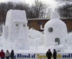 Spongebob house