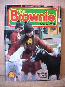 The Brownie Annual. Girl Guides. 1983.