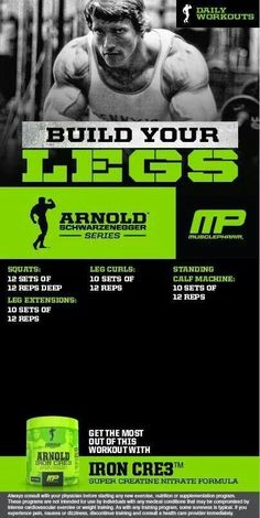Arnold Build Your Legs