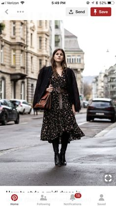 New dress floral outfit winter fashion ideas ideas Winter Mode Outfits, Winter Maternity Outfits, Winter Dress Outfits, Winter Outfits Women, Winter Fashion Outfits, Women's Fashion Dresses, Dress Winter, Outfit Winter, Outfit Summer