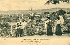 Hochwacht  Postkarte gelaufen 1905