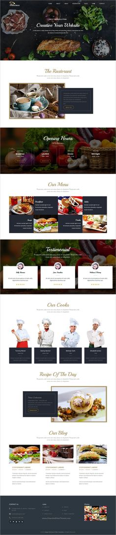 Mega Delicieux is a visually rich responsive #HTML5 Template for #Restaurant, Cafe, Bar, Beverage Shops, Fast Food Shops, or #Food Companies website download now➩ https://themeforest.net/item/mega-delicieux-restaurant-and-food-html5-template/18917267?ref=Datasata