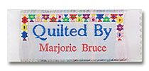 personalized quilting labels from www.namemaker.com #quiltinglabels  #sewinglabels #clothinglabels