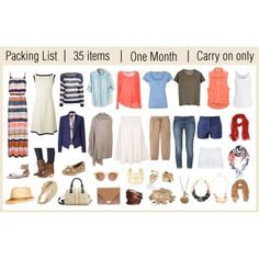 """Packing list"" by tianarutledge on Polyvore"