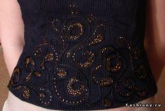 Разнообразие вышивки... / вышивка на одежде