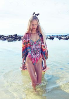 Breathtaking colourways and patterns in this Camilla editorial.