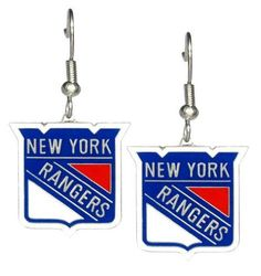New York Rangers - NHL Team Logo Dangler Earrings by aminco. $9.50. Show your support for the New York Rangers with these Team Logo Dangler Earrings. Save 37% Off!