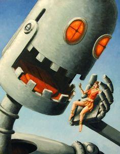 Pretty Girls and Robots by Bill Zeman