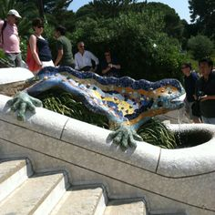 Lizard at Park Güelle