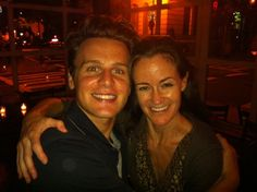 "Posted by Kimberly Grigsby (Music Director, Coraline) and Jonathan Groff (Actor, The Submission) —    ""This moment was captured at the Little Owl after seeing MCC's superb production of Don't Go Gentle at the Lortel. Incredible acting, terrific writing, beautiful direction… we discussed the play for hours. Go see it."""