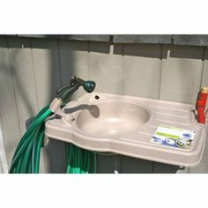 CleanIT Outdoor Sink System with Large Counter Top - Tractor Supply Co.