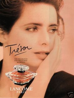 "1995 Original Print Ad Tresor Perfume by Lancome Paris ""for Treasured Moments"" | eBay"