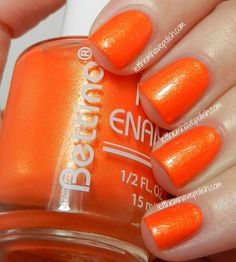 Truffle Tuesdays! Bettina Mandarin- Nail Art and Swatch