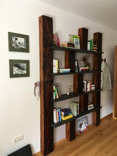 Johann - Google+ Bookcase, Shelves, Google, Home Decor, Old Wood, Shelf, Bed Room, Shelving, Homemade Home Decor