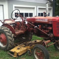 Old Farmall tractor- Used to have one.