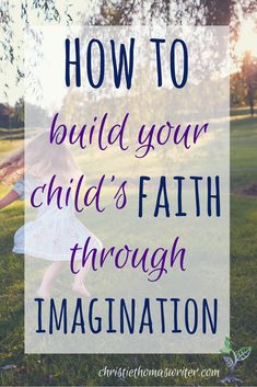 One fun way to incorporate imagination into your family devotions! via @cthomaswriter