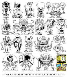 19 NEW Robot concepts by STUDIOBLINKTWICE.deviantart.com on @deviantART