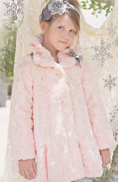 Girls Pink Amazingly Soft Coat 2T to 10 Years The Softest Jacket In The World!! Now in Stock at www.cassiesclosetinc.com