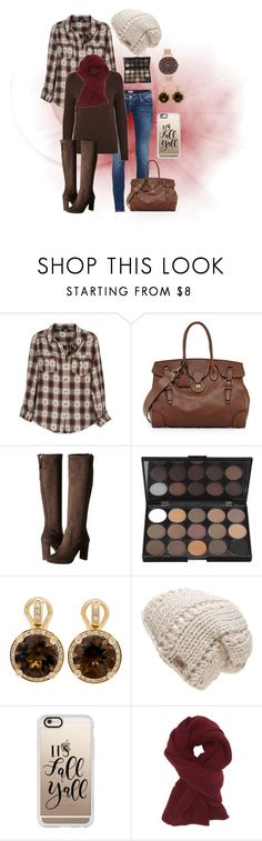 """""""Happy fall"""" by holgal ❤ liked on Polyvore featuring Paige Denim, Ralph Lauren, Nine West, Poiray Paris, The North Face, Casetify, Charlotte Russe and Olivia Burton"""