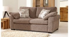 Langley 2 Seater Sofa #modern #sofa #fabric