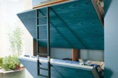 """Outstanding """"murphy bed ideas space saving"""" detail is readily available on our website. Have a look and you wont be sorry you did. Murphy Bunk Beds, Modern Murphy Beds, Murphy Bed Ikea, Murphy Bed Plans, Kids Bunk Beds, Beds For Small Rooms, Small Space Bedroom, Small Spaces, Kids Bedroom"""