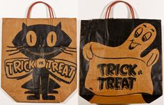 Halloween Bags of the 60's