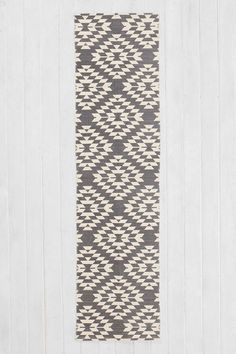 Shop Magical Thinking Costa Geo Printed Runner Rug at Urban Outfitters today. Hallway Carpet Runners, Hallway Runner, Stair Runners, Bath Mat Runner, Runner Rugs, Bathroom Runner Rug, Kitchen Runner, Black And Grey Rugs, Magical Thinking