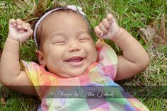 love a big gummy baby smile!