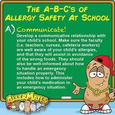 #FoodAllergies #AllergyAwareness #AllergySafety #KeepKidsSafe #AllerMates