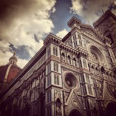 The Duomo of #Florence, up close. Photo courtesy of kbyoga on Instagram.