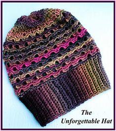 The Unforgettable Hat pattern by Crochet Supernova
