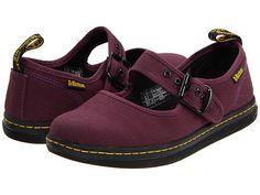Dr. Martens Carnaby Mary Jane Purple Canvas