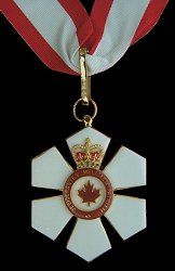 The Order of Canada (French: Ordre du Canada) is a Canadian national order, admission into which is, within the system of orders, decorations, and medals of Canada, the second highest honour for merit. It comes second only to membership in the Order of Merit, which is within the personal gift of Canada's monarch