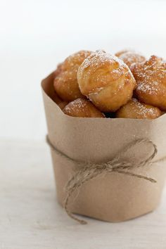 Sweets so yummm, William Sonoma's New Orleans-Style Beignets! #beignets #sweets #desserts