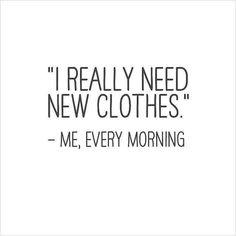 Who can agree? We are open! Grab coffee and come on down! #fashion #style #motivationalquote #ApricotLane