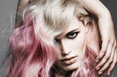 Ombre pastel hair colors 2015