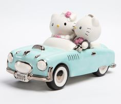 This special porcelain figurine by Precious Moments features both Hello Kitty and Dear Daniel!