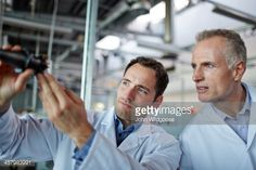 Stock Photo : Scientists working in laboratory