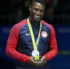 Daryl Homer first individual saber winner in 12 yrs. U.S. Olympians- Rio 2016