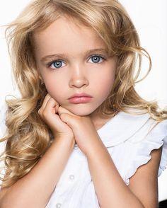 ⭐️Angelic Ivanka Kuvaeva ❄*( 2011/07/08 )♔@kuvaevanika ♕Be YourSelf ~ Own Bland♛ _2016/11/06 ~ @yanachuvalova @anloginova_makeup ~ # Portrait # Portfolio # Purity # Eyes # kidsphotographer