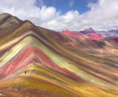 . The amazing Rainbow Mountains, Peru. .   #vinicunca   #peru   #ausangate   #hiking   #rainbowmountain   #rainbowmountains   #visitPeru   #mountain   #Holiday   #Travel   #Explorer   #Tourist   #Adventure   #Instagood   #Instatravel   #Traveller   #Wanderlust   #Landscape   #Photographer   #Bestvacations   #Lonelyplanet   #Discover   #Beautiful   #Wonderfulworld   #Trav...
