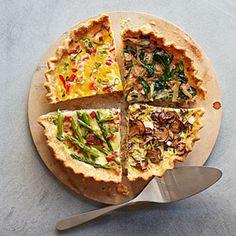 Asparagus and Bacon Make Ahead Quiche Recipe - Good Housekeeping