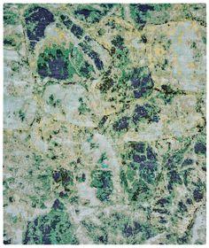 Jan Kath rug __  Emerald_green