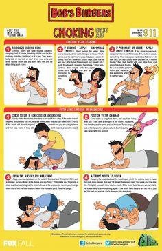 Bob's Burgers Choking Poster