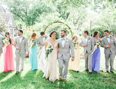 Pretty Pastel Texas Wedding - Inspired By This