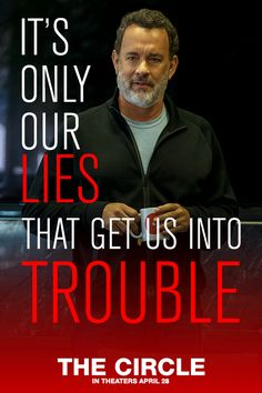 It's only our lies that get us into trouble. - in theaters April Movie Quotes, Funny Quotes, Life Quotes, Meaningful Quotes, Inspirational Quotes, Motivational, Tom Hanks, Truth Hurts, Film Serie