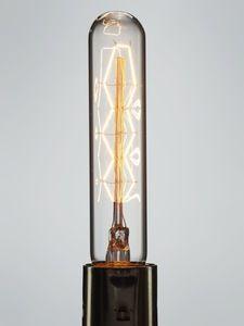 Image of MINI TUBE | zigzag filament lightbulb | 25W British seller and lower wattage.