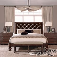 This room puts timeless pieces of furniture together to help make a quiet sanctuary.  If you want, add some color with pillows, wall paper, paint and accessories.  But we think it's beautiful on it's own too.  Bernhardt | Commonwealth Bedroom Setting