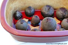 Roasting beets softens their earthy flavor and brings out a wonderful sweetness. This way of preparing beets is so simple that you'll prob...