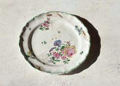 vintage on a plate
